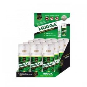 Mugga Spray 9,5% DEET w displayu